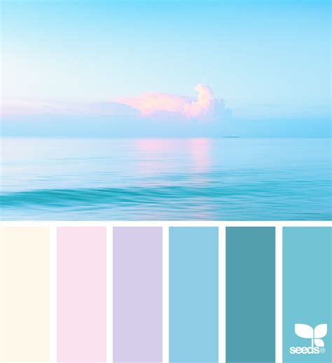 seeds color palette heavenly hues color inspiration design seeds and color