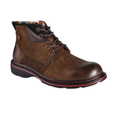 Sepatu Safety Jim Joker jual jim joker casual boot 1b sepatu pria coffee