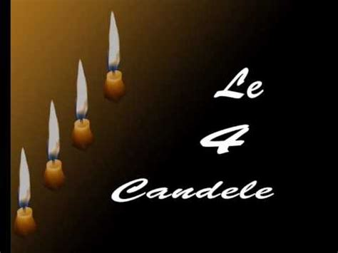 la storia delle 4 candele le 4 candele