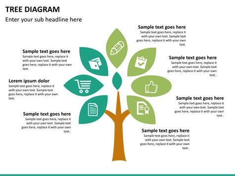 how to create a tree diagram powerpoint tree diagram sketchbubble