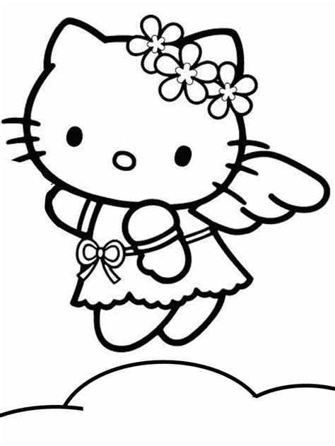 hello kitty angel coloring pages hello kitty coloring pages coloring pages for kids