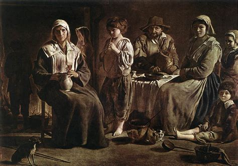 louis brothers peasant family by le nain brothers