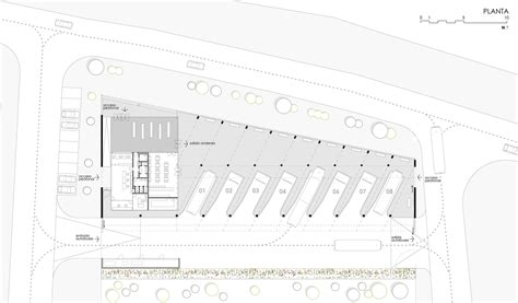 How To Draw Floor Plan gallery of bus station dtr studio architects 21