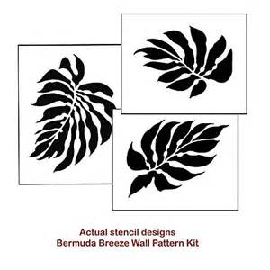 awesome wall stencils instead of wallpaper easy reusable