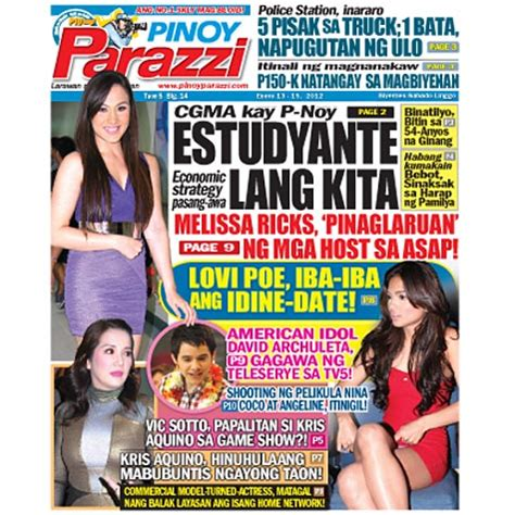 calameo vol 13 no 2 enero 2012 pinoy parazzi vol 5 issue 14 january 13 15 2012 pinoy