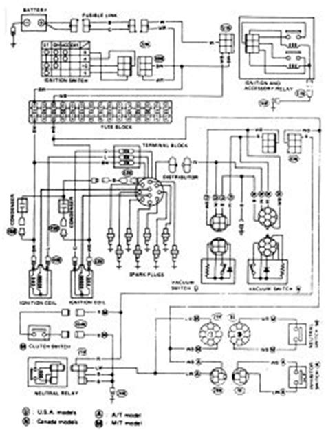 1987 nissan stanza ignition wiring diagram stanza free printable wiring diagrams