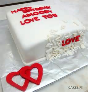 kuchen liebe letter cake cakes pk