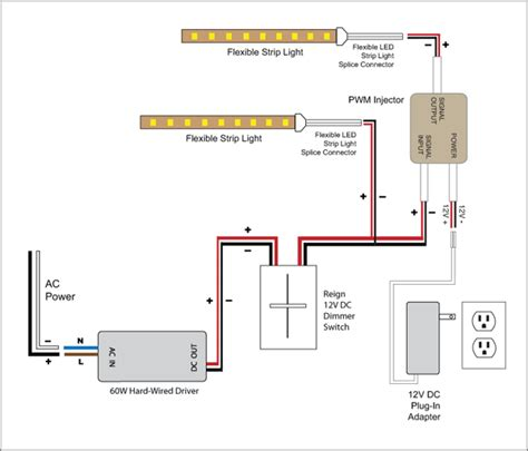 12v led dimmer switch wiring diagrams easy 3 way
