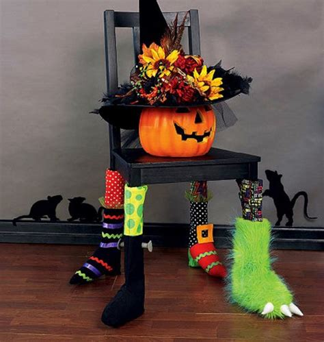 halloween home decor wholesale in awesome yellow then halloween decorations pattern chair socks pattern witch by