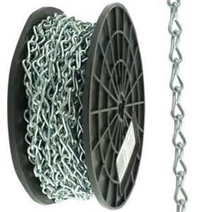 chain home depot everbilt 12 x 100 ft zinc plated chain 806480 the
