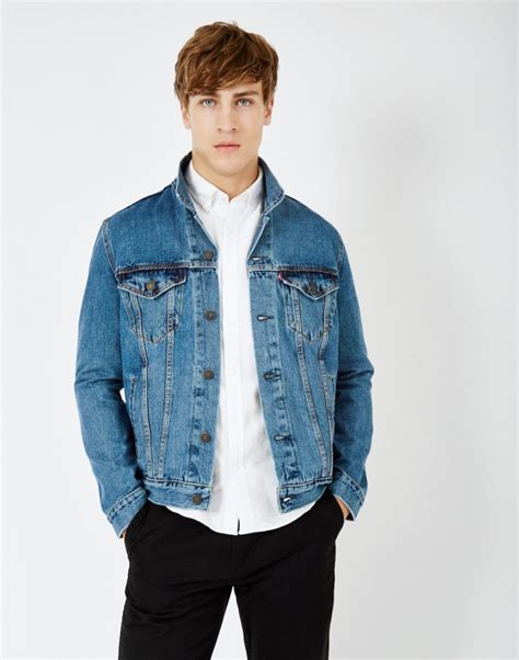 Denim Jacket mens denim jacket style coat nj