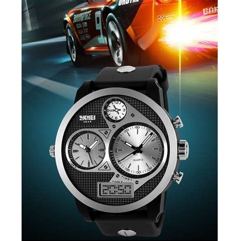 Skmei Original Casio Sport Led Water Resistant 50m Ad1065 skmei casio sport led water resistant 50m ad1033 black white jakartanotebook