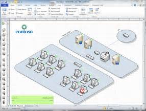 Visio Floor Plan Shapes by Visio 3d Network Diagram Jebas Us