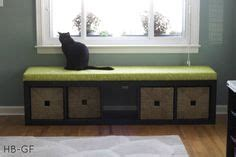 ikea expedit bench cushion diy reuse repurpose ikea hack turned an ikea expedit bookshelf into a bench i had