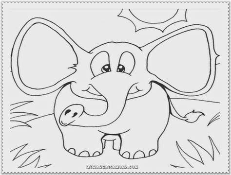 pretty elephant coloring pages cute elephant coloring pages free printable kids
