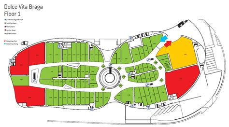 layout plan of commercial complex circular shopping mall plan google search mall