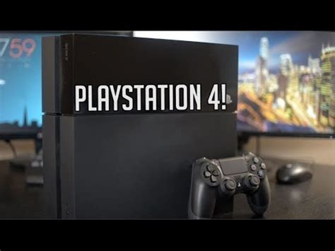 ps4 layout youtube sony ps4 unboxing design overview initial setup youtube