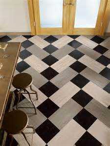 ideas checkered flooring ideas for awesome room look black
