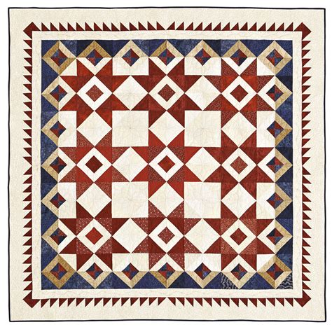 American Patchwork Quilting Patterns - white and oooh quilting pattern from the editors of