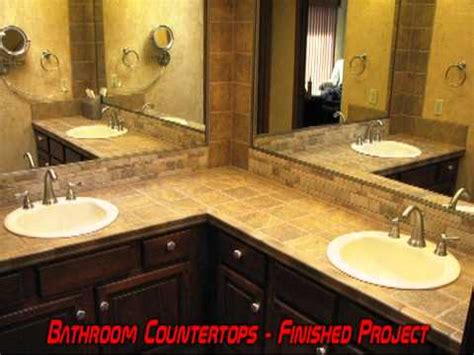 tile bathroom vanity countertop bath bathroom vanity tile countertop remodel grout