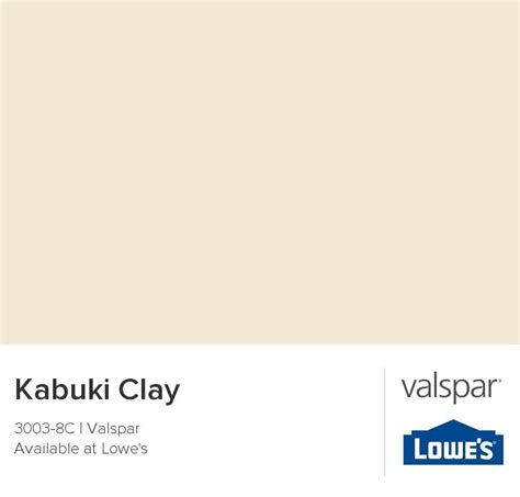 kabuki clay from valspar paint colors clay
