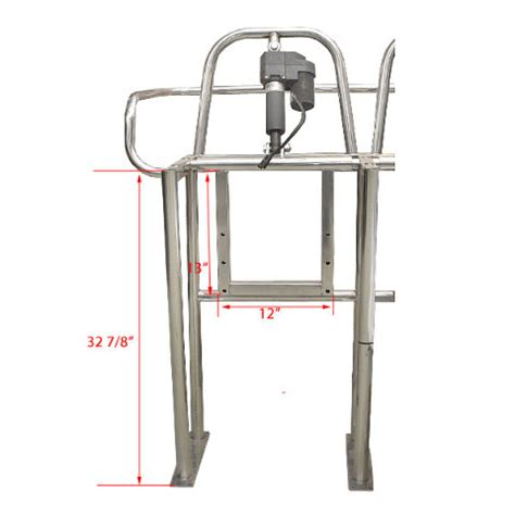 boat seat frame hydra sports hs22005822 three position stainless boat
