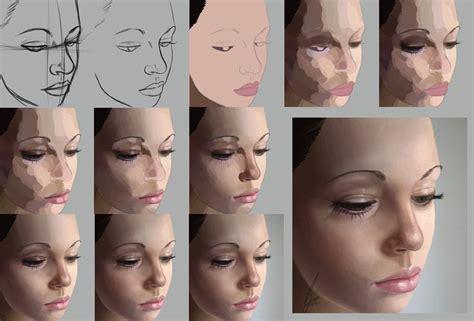 illustrator tutorial digital painting digital painting photoshop process technique realistic