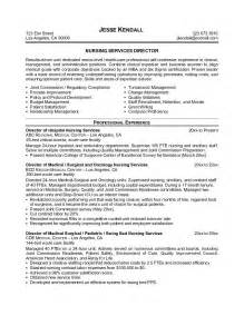 Nursing Resume Objectives Sample Director Of Nursing Resume Job Resume Samples