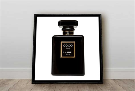 coco chanel canvas wall art print final touch decor