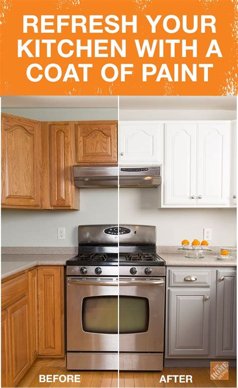 Vaios Get New Coat Of Paint by Get The Look Of New Kitchen Cabinets The Easy Way
