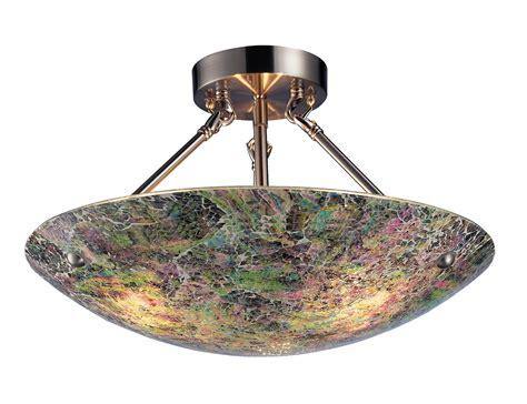 Elk Lighting 73022 3 Avalon Semi Flush Ceiling Fixture Semi Flush Ceiling Light Fixture