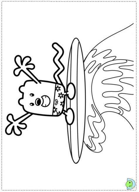 wow wow wubbzy coloring pages az coloring pages