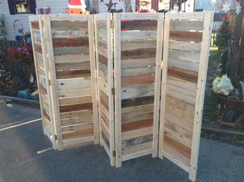 Handmade Room Dividers - handmade primitive room divider movable wall screen made