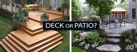 patio or deck how to the best solution for your home