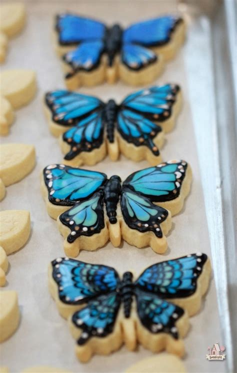 how to decorate butterfly cookies sweetopia
