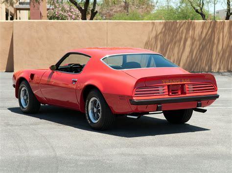 pontiac sd 455 1974 pontiac firebird trans am sd 455 classic 455