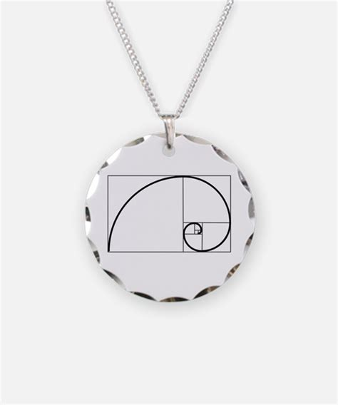 Golden Ratio Necklace golden ratio jewelry golden ratio designs on jewelry