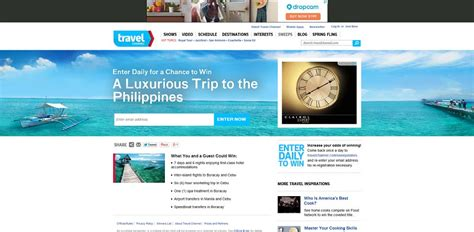 Www Travel Channel Sweepstakes - travel channel the trip 2014 sweepstakes upcomingcarshq com