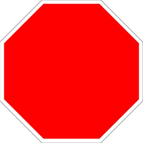 Blank Stop Sign Clip Free by Free Blank Stop Sign Free Clip Free Clip