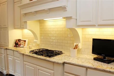backsplash for yellow kitchen just picture pale yellow subway tile bathroom ideas