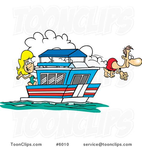 cartoon images of houseboat cartoon couple on their house boat 6010 by ron leishman