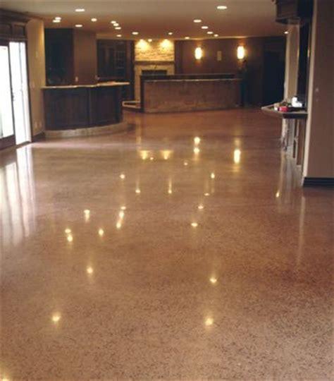 Poured Concrete Kitchen Floor by Concrete Floors Polished Concrete And Poured Concrete On