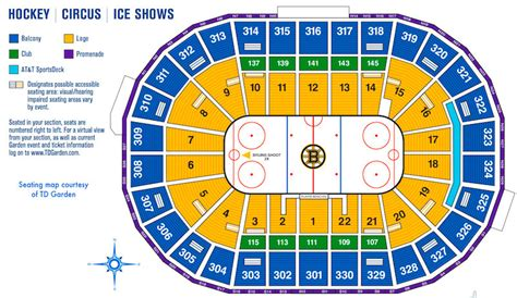 td garden seating boston bruins seating chart td garden tickets td garden