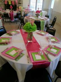 Baby Shower Table by Baby Shower Table Setting Babies Pinterest