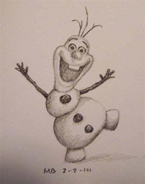 doodle draw olaf olaf the aspiring illustrator