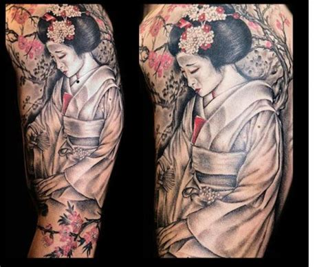 tattoo geisha vorlagen kufarius geisha tattoos von tattoo bewertung de