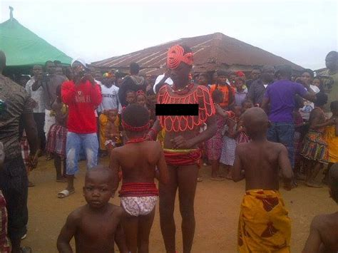 naija nudies photos from a nude annual virgin dance that holds in