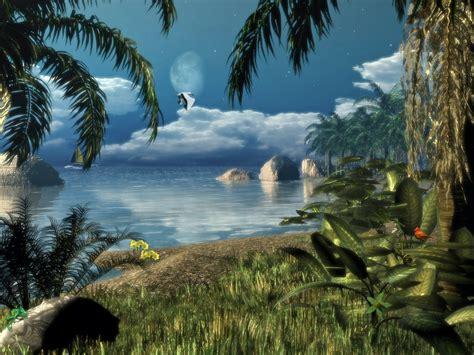 cartoon wallpaper or screen saver caribbean nights screensaver 1 0 free download