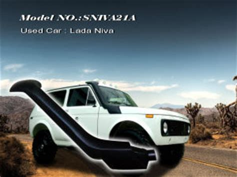 Lada Niva Snorkel China Russia Car Lada Niva Snorkel China Car Snorkel