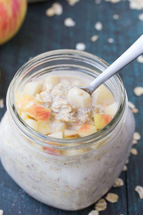 Oatlab Apple Cinnamon Overnight Oat apple cinnamon overnight oats kristine s kitchen